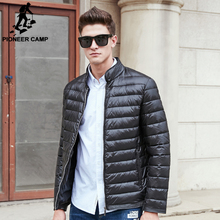 Pioneer Camp New arrival thin light down jacket men brand clothing autumn winter down coat men top quality male parkas 677171(China)