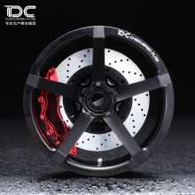 DC FOR 1/10 RC DRIFT CAR ALLOY WHEEL HUB +6 offset zp.06 TYPE - 4PCS/SET 90186