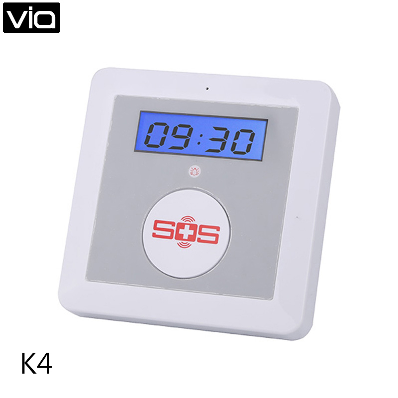 King Pigeon K4 Direct Factory Smart Home Security Wireless Android IOS APP Remote Control GSM Alarm System SOS Panic Button<br>