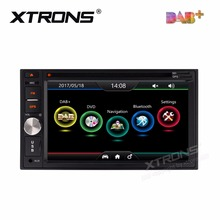 "6.2"" Double Din Car DVD Two Din Car Navigation GPS 2 Din Car Radio with Built-in DAB+ Module & Professional DAB+ Antenna(China)"