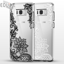 Mandala Flower For Samsung Galaxy S3 S4 S5 S6 S7 Edge S8 Plus A3 A5 2016 2015 2017 J2 J3 J5 J7 Case Grand Prime Fundas Coque(China)