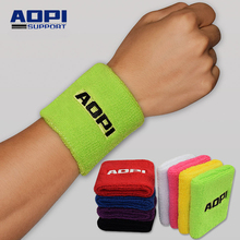 Buy AOPI 12 Colors Men Women Authentic Wrister Purified Cotton Tower Sport Basketball Running Tennis Protector Bracer Sweatband for $9.30 in AliExpress store