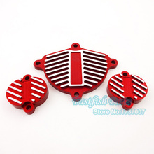 Red YX 160cc 1P60FMK Engine Cam Cover Valve Cap Dress Up For Kit Pit Dirt Motorcycle Motoparts Bike Crass