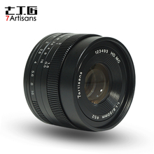 Buy 7artisans 50mm F1.8 Large Aperture manual Micro fixed focus Portrait camera lens Canon Sony M4/3 Fuji camera for $89.00 in AliExpress store