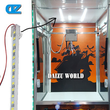 Toy Crane Machine Top LED Lights Belt , Doll  Claw Machine , Coin Operated Amusement Game ,Arcade Toy Crane