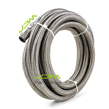 Stainless Steel Braided Fuel Oil Water Line Hose AN10 OD 20mm 1000Psi 5 Meter