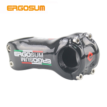 Carbon Bicycle Stem Bike 31.8 Stems ERGOSUM Bicycle Handlebar Stem Bicycle Tables Carbon MTB Cycling Bike 3K Gloss Ultra-light