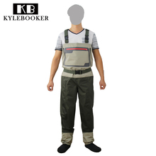 New Style Fly Fishing Wader Stocking Foot Chest Waders Breathable Waterproof Fishing Wader(China)