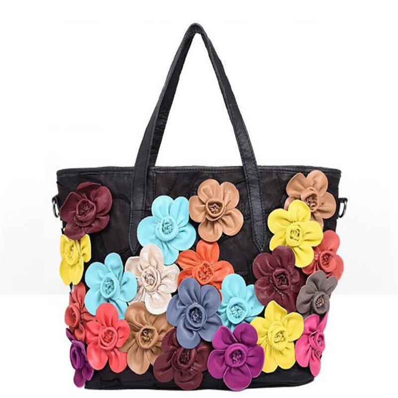 Designer big multi color tote bags high quality soft leather handbag large capacity causal shoulder bag taschen women tasche<br><br>Aliexpress