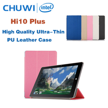 High Quality Ultra-Thin Case For CHUWI Hi10 Plus 10.8 Inch Tablet PC Fashion PU Case Cover For Chuwi Hi10 Plus Free Shipping