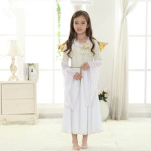 girls costumes performance wear princess costumes christmas costumes for girls angel costumes stage cosplay white fairy dress