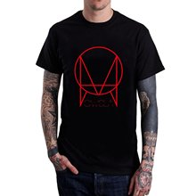 Good Quality Brand Cotton Shirt Summer Style Cool Shirts Men's Owsla Logo Tshirts Black Short Sleeves
