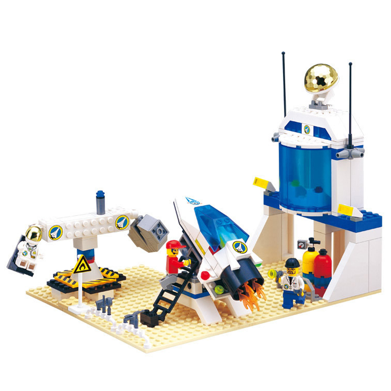 LEWEIHUAN 292pcs Building Block International Space Station Astronaut Building Blocks DIY Model Toy Compatible With Legoe<br><br>Aliexpress