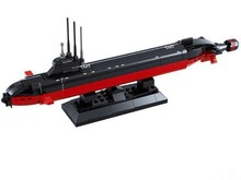 High Simulation Nuclear Submarine DIY Assembling Model Building Kits Toys 193PCS for Children