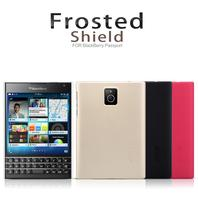Nillkin Frosted Shield Phone Case for BlackBerry Q30 Hard PC Back Cover for BlackBerry Passport Q30 Matte Case + Screen Film