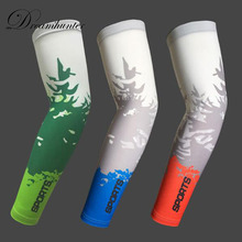 1pair Cooling Bike Cycling Arm Sleeves ice Anti-UV compressport Running Sports golf High Elasticity manguito ciclismo 2017