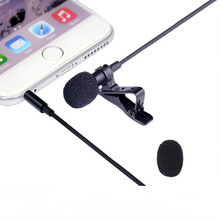 Portable Clip-on Omnidirectional Smartphone Microphone for iPhone, iPad, iPod Touch, Samsung Phones and Windows Smartphones