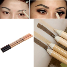 Waterproof 2 in 1 Eyebrow Pen + Foundation Base Contour Makeup Face Concealer Pencil Professional Double-end Make Up M02990(China)