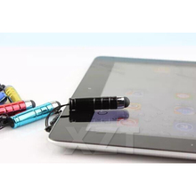10pcs/Lot Mini Fine Point Stylus Capacitive Touch Microfiber Stylus Pen Touch For ipad for iphone Smart Phone(China)