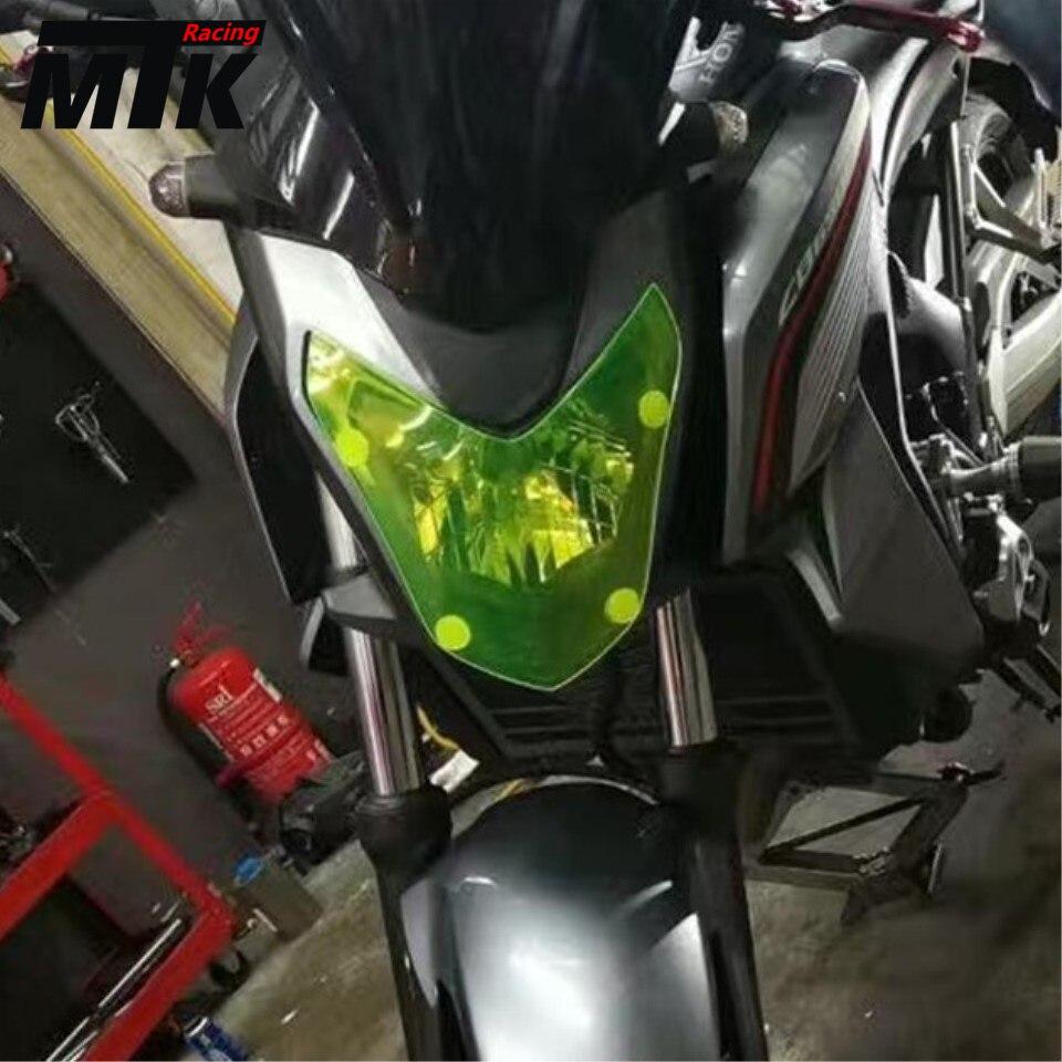 MTKRACING High Quality Motorbikes Acrylic Headlight Protector Cover Screen Lens For HONDA CBR 650F CB 650F  2014-2017<br>