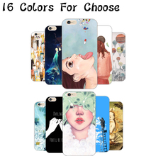 6/6S Hard PC Phone Cover Cases For Apple iPhone 6 6S Case Shell Can You Find A Lonely Cat(China)
