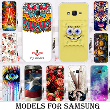 Plastic Silicone Cases For Samsung Galaxy A3 A5 2017 Duos A320 A520 A520F J2 J1 Mini Prime SM-J106 SM-G532 J7 Prime Mega On7 B