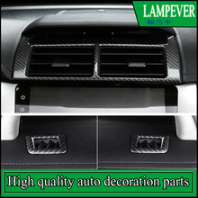 Car Interior Dashboard Air Conditioner Outlet Vent Frame Trim Cover Styling For Toyota Camry 2015 2016 ABS Car covers Auto Parts(China)