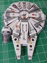 2017 Star Series Wars Millennium Falcon Outer Space Ship Building Block Model Toys Christmas Birthday Gift Compatible LEGOingly(China)