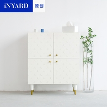 [InYard original] original, square cabinet, porch cabinet/side cabinet lockers/multi-functional collection, Nordic design(China)