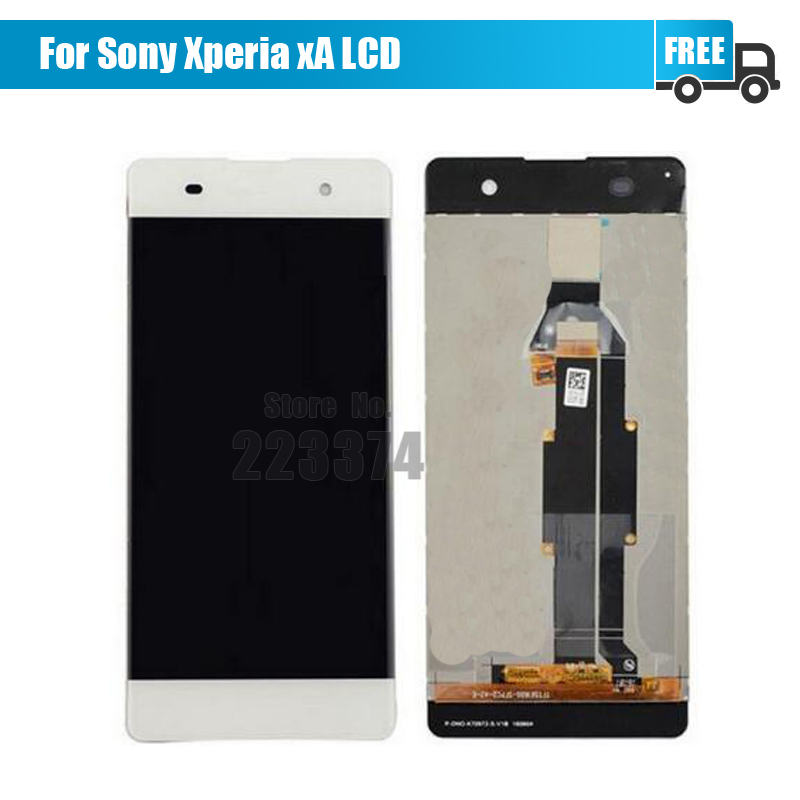 5PCS/LOT For Sony Xperia XA F3111 F3113 F3115 LCD Display with Touch Screen Digitizer Assembly Free DHL<br><br>Aliexpress