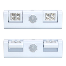 Battery Operated Motion Sensor Light For Cabinet Drawer Staircase Workshop Basement Garage Wireless Step Lamp LED Night Light