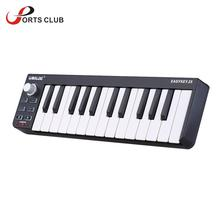 High Quality WORLDE 25 Portable Velocity-sensitive Keyboard Mini Durable 25-Key USB MIDI Controller