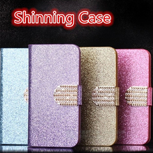 Buy Luxury PU Leather Wallet Case Nokia Lumia 630 635 636 Flip Cover Shining Crystal Bling Case Card Slot & Bling Diamond for $3.79 in AliExpress store