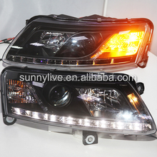 2005- -2008 year For Audi A6L LED HeadLights Headlamps front light R8 Style SN