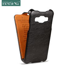 FERISING Samsung A3 A300F 2015 Luxury Case Flip Leather Cover galaxy A3000 A300H 4.5'' Cases Phone Bags P001 - ferising Official Store store