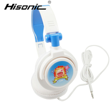 Hisonic Twelve constellations Headphone Foldable Earphone Headset Wire Control Wired Phone pink cute boy girl headset