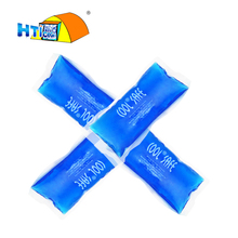 Super Large size blue ice gel 4 pieces for Diabetic Insulin cooler pack bag in cooling box keep cooler up to 24 hours