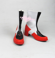 2017 New TV Anime Sword Art Online Ordinal Scale Yuuki Asuna Cosplay Boots Anime Shoes Custom Made