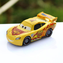 Pixar Cars Diecast Yellow NO.95 Alloy Metal Toy Car For Children 1:55 Loose Brand New  McQueen Racing Car Model Toy