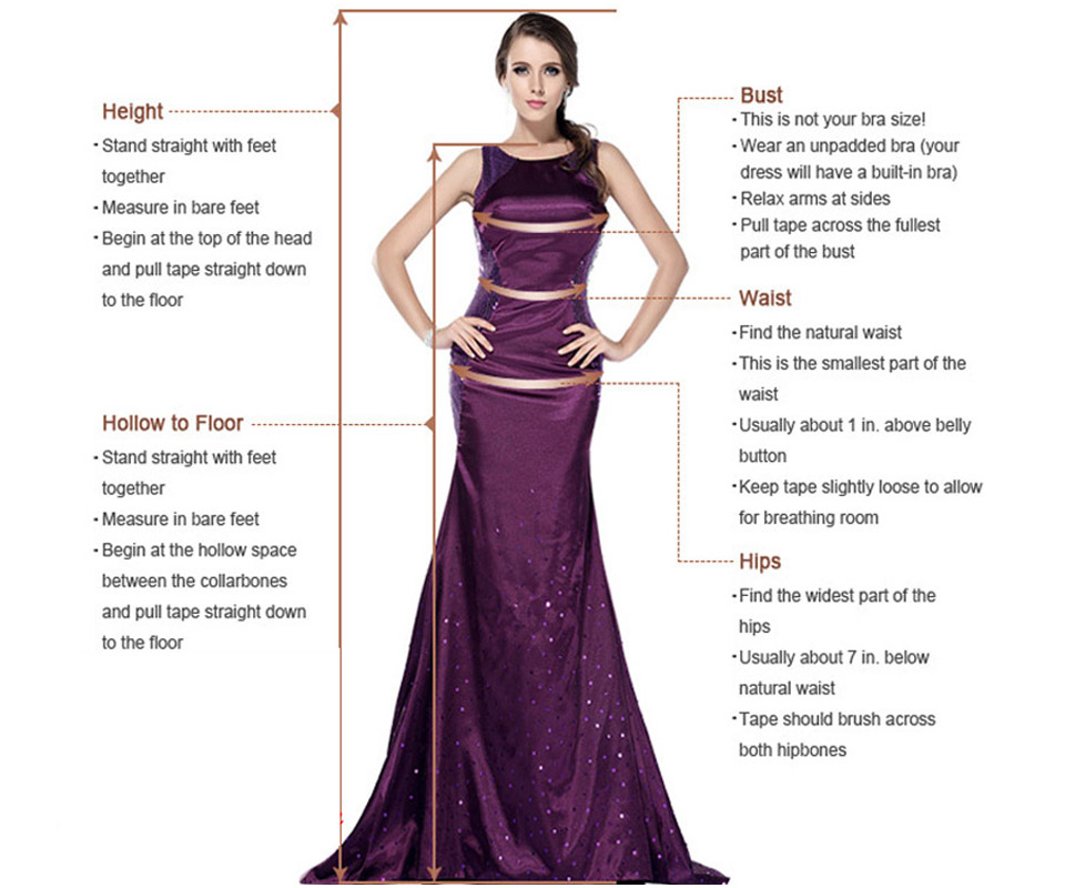 Wedding_Prom_Evening_Cocktail_Women_Girls_Dresses_size_model