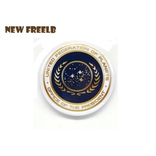 Classic TV Movie Star Trek Discovery United Federation of Planets Presidential Seal Pin Badges Brooches for WOmen and Men fas(China)