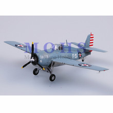 EASY MODEL 37246 1/72 Assembled Model Scale Finished Model Airplane Scale Aircraft Fighter F4F F4F-4 Wildcat VF-3 USS lexington