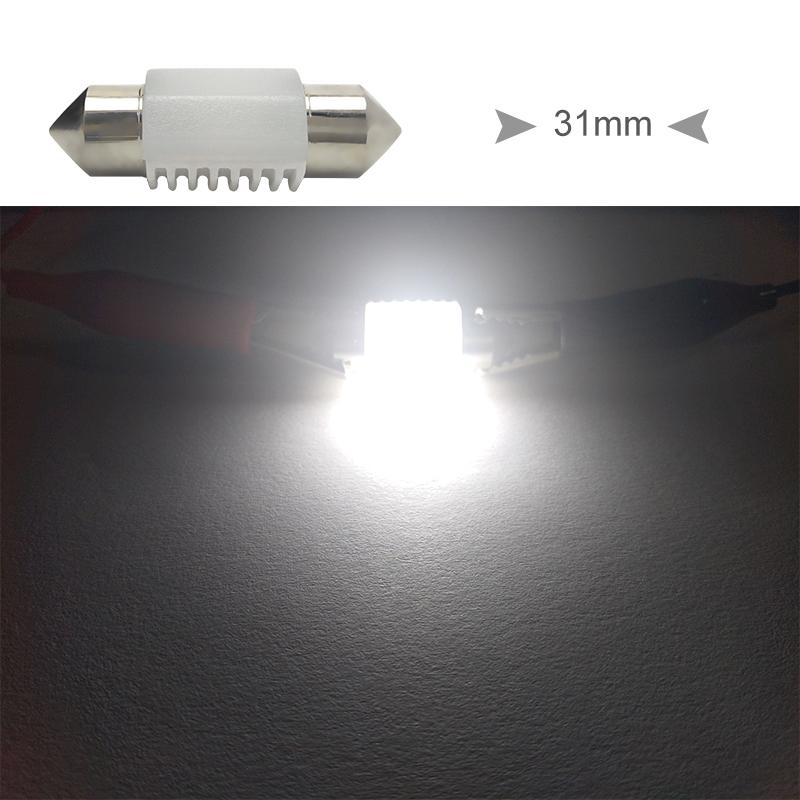 CNSUNNYLIGHT High Quality C5W C10W LED 31mm 36mm 39mm 41mm CANBUS Car Festoon Light Auto Interior Dome Lamp Reading Bulb White 12V 24V (13)