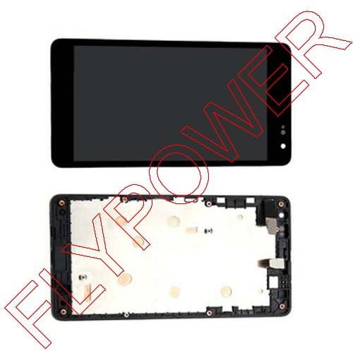 For Microsoft For Nokia lumia 535 LCD Screen Display with Touch Screen Digitizer with frame Assembly by Free Shipping<br>
