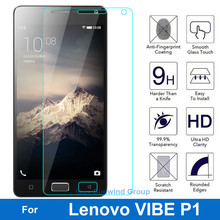 9H Tempered Glass Screen Protector for Lenovo VIBE P1 P 1 P1a42 P1c72 P1c58 Dual Sim Lte Protective Film