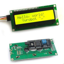 Tracking number Tracking number IIC/I2C/TWI 1602 Serial LCD Display Module For MEGA2560 UNO R3 Due Nano