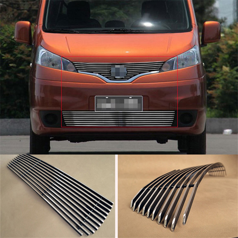 Aluminium Front Center Racing Grills Billet Grille Cover For Nissan NV200 2010-2013<br><br>Aliexpress