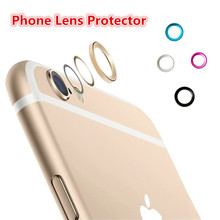 "FFFAS Jewelry Rear Phone Camera Glass Metal Lens Protector Ring Guard Circle Case Cover For iphone 6 6s 4.7"" 6 plus 5.5""(China)"
