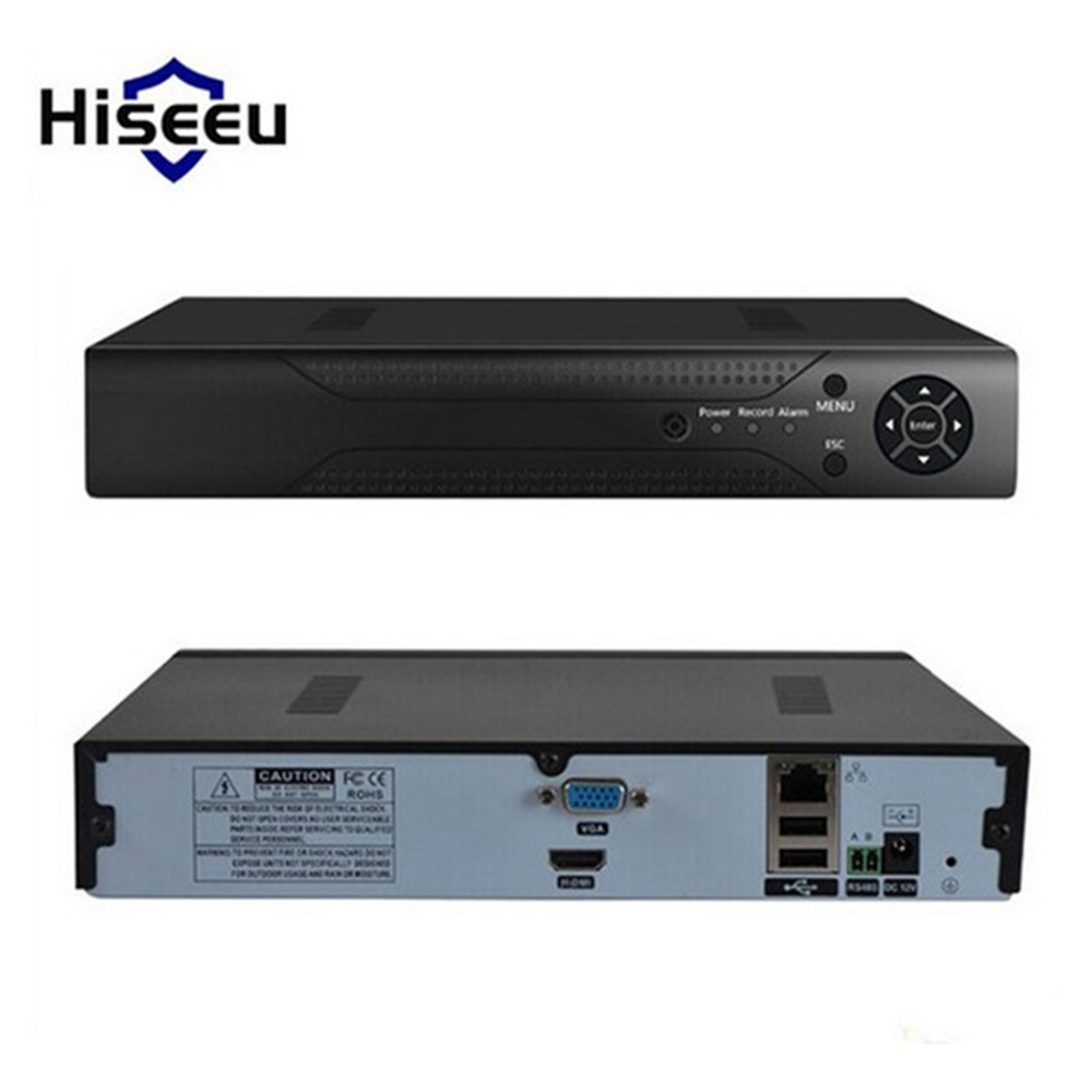 1920*1080P ONVIF 2.0 Metal Case H.264 VGA HDMI 8CH CCTV NVR 8Channel Mini NVR For IP Camera Security System For 1080P Camera<br>