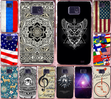 National Flag Eyes Let Me Go PC Print moblie Phone Cases Covers For Samsung Galaxy S2 SII i9100 Case back cover skin shell capa